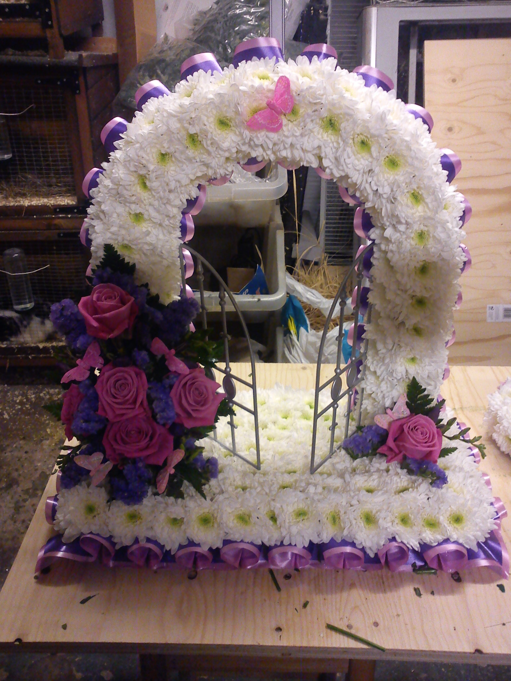 Gates of heaven tribute pet alls florist gates of heaven tribute izmirmasajfo